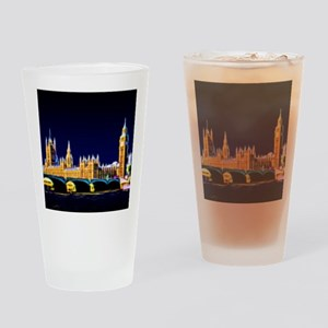 Houses of Parliament with Big Ben, Drinking Glass