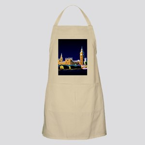 Houses of Parliament with Big Ben, London Apron