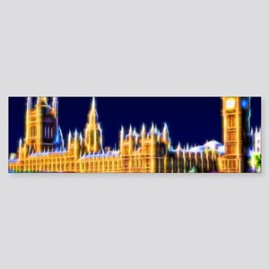 Houses of Parliament with Big Ben Sticker (Bumper)