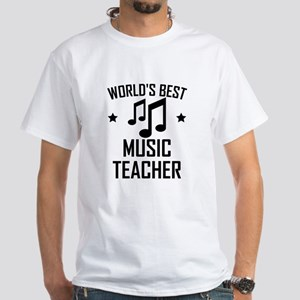 Worlds Best Music Teacher T-Shirt