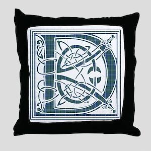 Monogram - Douglas Throw Pillow