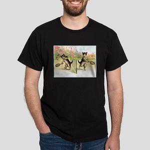 VINTAGE CAT AR T-Shirt