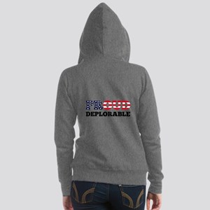 Proud Deplorable Women's Zip Hoodie