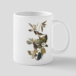 Warbling Flycatcher Bird Vintage Audubon Art Mugs