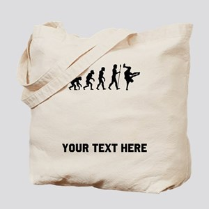 Breakdancer Evolution Tote Bag