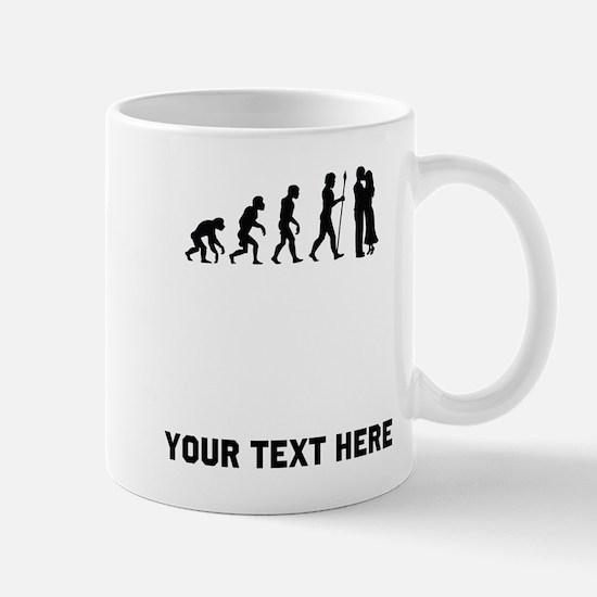 Couple Kissing Evolution Mugs