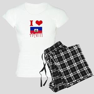 I Love Haiti Pajamas