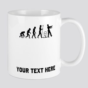 Zombie Evolution Mugs