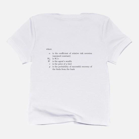 Risk aversion Infant T-Shirt