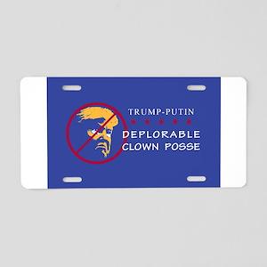 Deplorable Clown Posse, Tru Aluminum License Plate