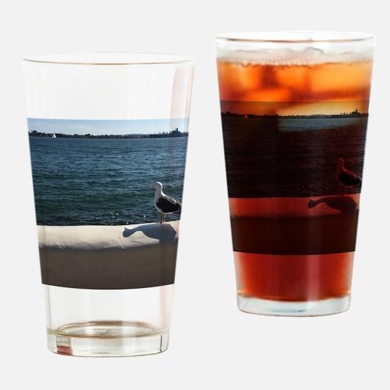 Unique Marina california Drinking Glass