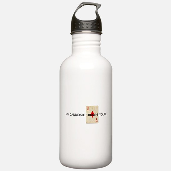 Trump card Water Bottle