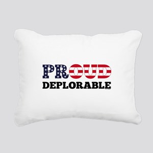 Proud Deplorable Rectangular Canvas Pillow