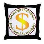 IS-SI Throw Pillow