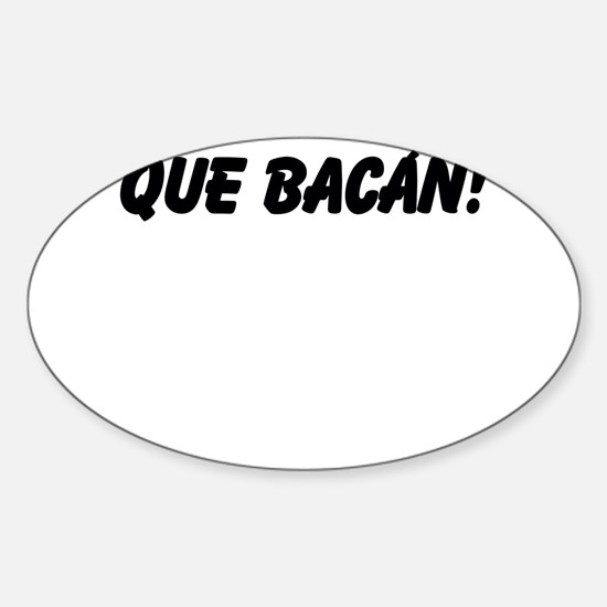 Que Bacan! Decal