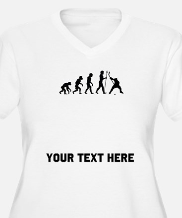 Hockey Evolution Plus Size T-Shirt