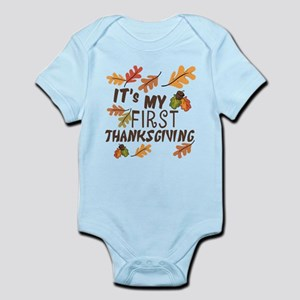 My First Thanksgiving Infant Body Suit