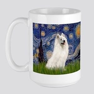 Starry / Samoyed Large Mug