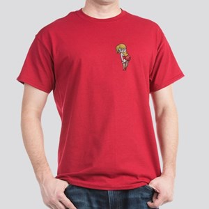 Hamster Red Dress II Dark T-Shirt