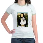 Mona / Samoyed Jr. Ringer T-Shirt