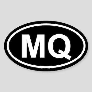 MQ Oval Sticker