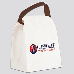 Cherokee Canvas Lunch Bag