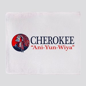 Cherokee Throw Blanket