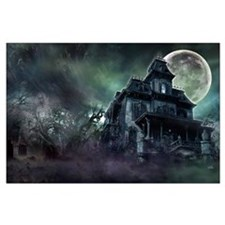 The Haunted House Large Poster