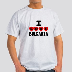 I Love Bulgaria Light T-Shirt