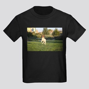 Leaping Brittany Spaniel T-Shirt