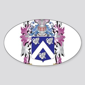 Swain Coat of Arms - Family Crest Sticker