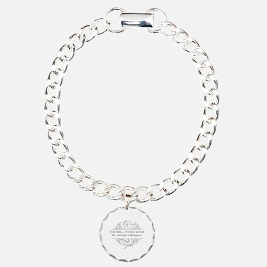 Unique Geek Charm Bracelet, One Charm
