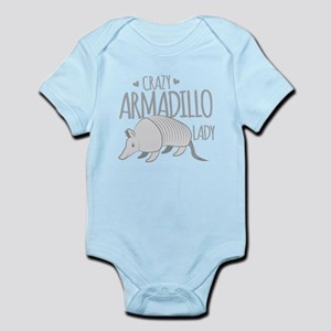 Crazy Armadillo lady Body Suit