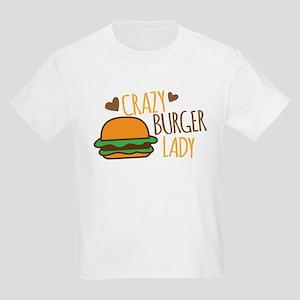 Crazy Burger lady T-Shirt