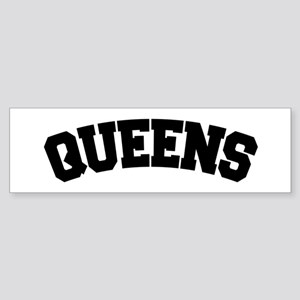 QUEENS, NYC Bumper Sticker
