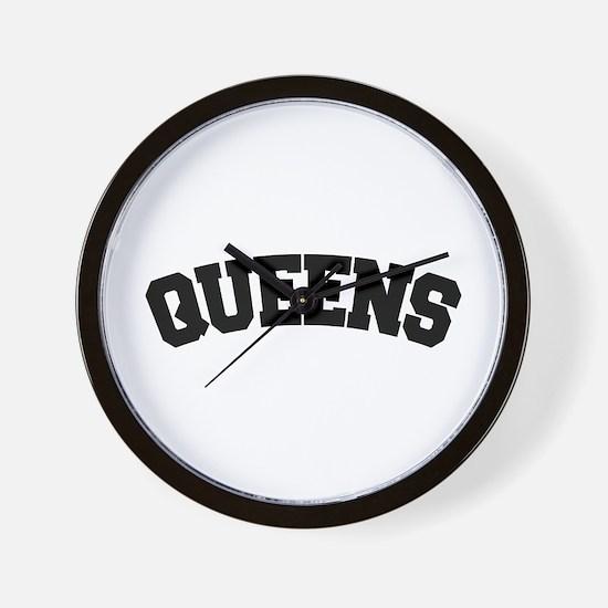 QUEENS, NYC Wall Clock