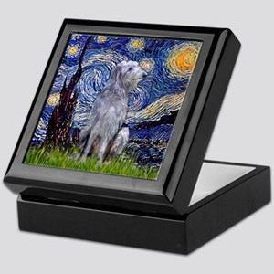 Starry /Scot Deerhound Keepsake Box