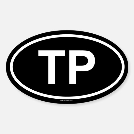 TP Oval Decal