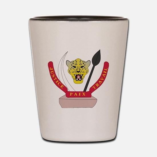Cool Democratic republic of congo Shot Glass