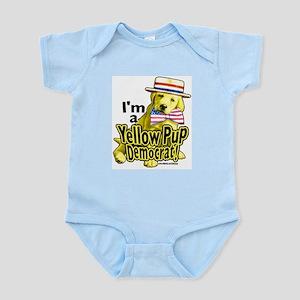 I'm a Yellow Pup Infant Creeper
