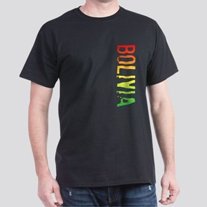 Bolivia Stamp Dark T-Shirt