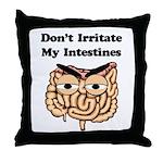 Don't Irritate - Crohn's Throw Pillow