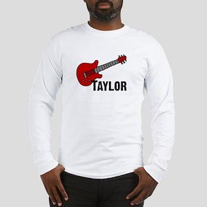 Guitar - Taylor Long Sleeve T-Shirt
