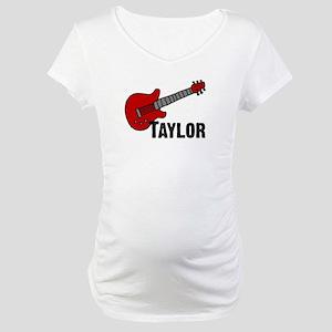 Guitar - Taylor Maternity T-Shirt