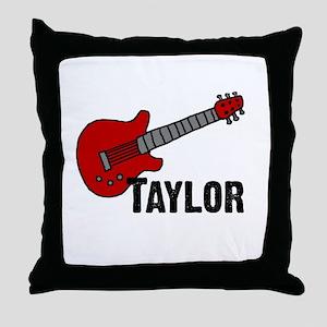 Guitar - Taylor Throw Pillow