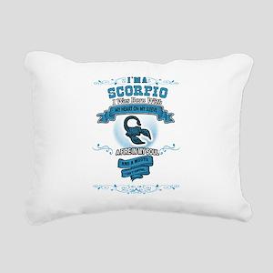 I'm a Scorpio Rectangular Canvas Pillow