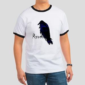 Raven on Raven Ringer T
