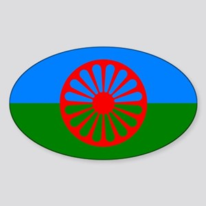 Flag of the Romani people - Romani flag Sticker