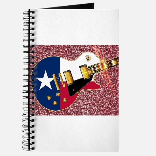 Texas Flag Guitar Guitar Journal
