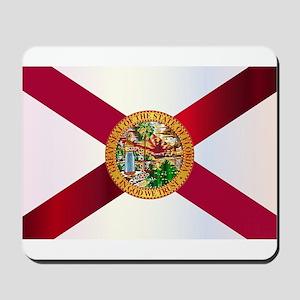 Florida State Metal Flag Mousepad
